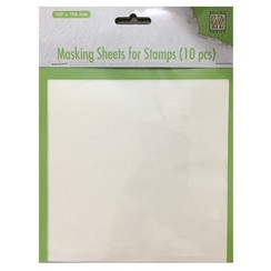 MMSFS001 - Masking sheets for stamps 10 pcs
