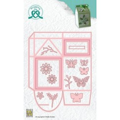 WPD011 - Wrapping Dies, Gift box-11 Milkpack box