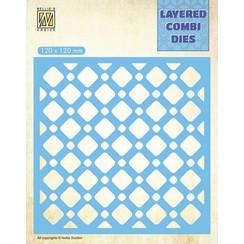 LCDSQ002 - Layered Combi Dies, Squares Layer B