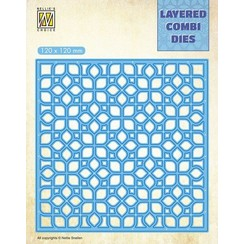 LCDF001A - Layered Combi Dies, FlowersLayer A