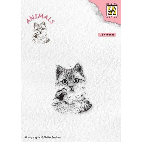 ANI021 - Clear Stamps, Animals Pussycat