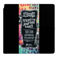 DYJ45557 - Ranger Dylusions Creative Journal Black Square 557 Dyan Reaveley