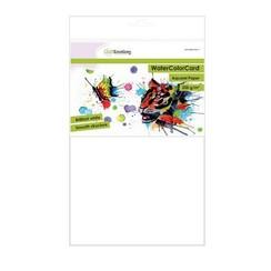 - Emotions WaterColorCard - briljant wit 10 vl A4 - 200 gr