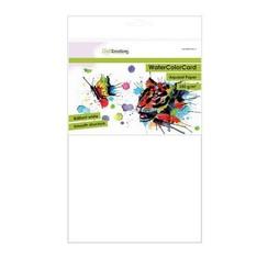 - Emotions WaterColorCard - briljant wit 10 vl A4 - 350 gr