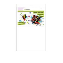 - Emotions WaterColorCard - briljant wit 10 vl 32 x 46cm - 350 gr