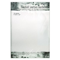 TDA71280 - Ranger Distress Cracked Leather Paper 8.5x11 10 vel 280