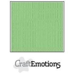 PR0012/1035 - CraftEmotions linnenkarton 10 vel pistache 30,0x30,0cm / LC-64
