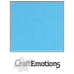 PR0012/1070 - CraftEmotions linnenkarton 10 vel aqua 30,0x30,0cm / LC-26