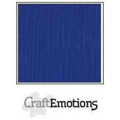 PR00121090 - CraftEmotions linnenkarton 10 vel hemelsblauw 30,0x30,0cm / LC-46