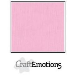 PR0012/1165 - CraftEmotions linnenkarton 10 vel roze 27x13,5cm  250gr  / LHC-38