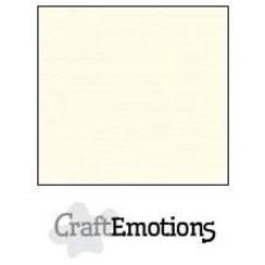 PR0012/1305 - CraftEmotions linnenkarton 10 vel ivoor 27x13,5cm  250gr  / LHC-03