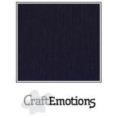 PR0012/1350 - CraftEmotions linnenkarton 10 vel zwart 27x13,5cm  250gr  / LHC-58