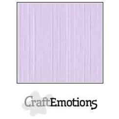 PR0012/1115 - CraftEmotions linnenkarton 10 vel lavendel-pastel 27x13,5cm  250gr  / LHC-59