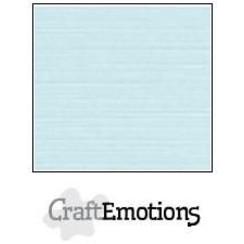PR0012/1060 - CraftEmotions linnenkarton 10 vel babyblauw LHC-35 A4 250gr