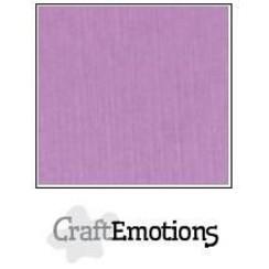 PR0012/1145 - CraftEmotions linnenkarton 10 vel lila LHC-33 A4 250gr