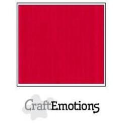 PR0012/1205 - CraftEmotions linnenkarton 10 vel vuurrood LHC-66 A4 250gr