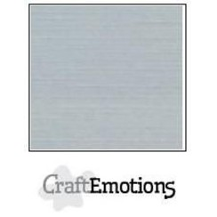PR0012/1335 - CraftEmotions linnenkarton 10 vel grijs LHC-71 A4 250gr