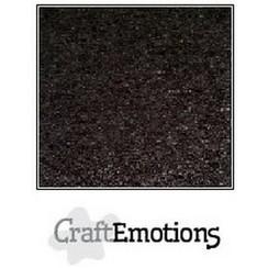90-60 - CraftEmotions karton kraft zwart 10 vel A4  220GR