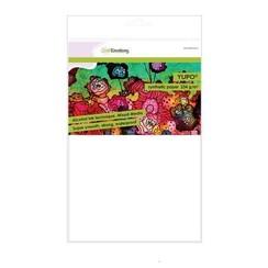 01-0500-0033 - CraftEmotions Synthetisch papier - Yupo wit 10 vl A4 - BLUE 234 gr