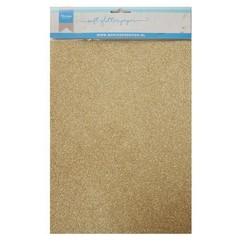 CA3143 - Soft Glitter paper - Gold