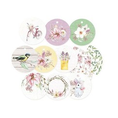 P13-SPR-21 - Piatek13 - Decorative tags The Four Seasons - Spring 01 PR-21