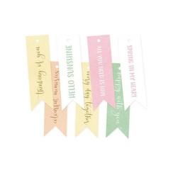 P13-SPR-22 - Piatek13 - Decorative tags The Four Seasons - Spring 02 PR-22