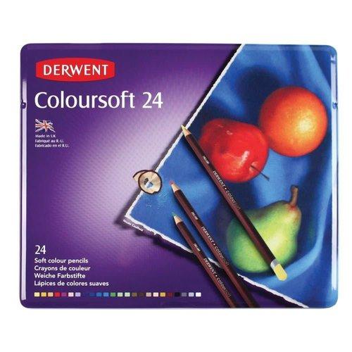 DCS0701027 - Derwent Coloursoft 24 st blik 01027