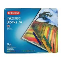 DIB2300443 - Derwent Inktense blocks 24 st blik 00443