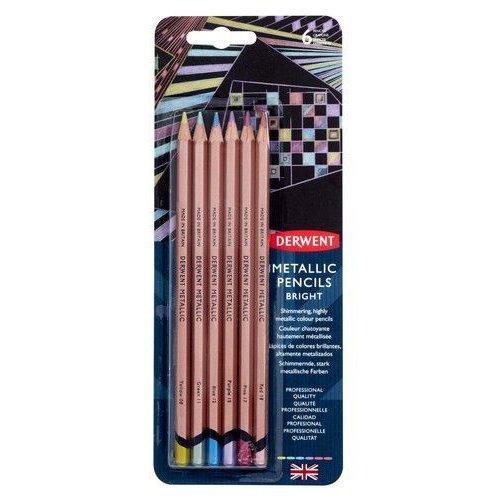 DMP2305601 - Derwent Metallic Colours 6 st blister 05601