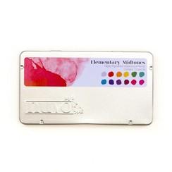523N - Nuvo watercolour potloden - Elementary Midtones