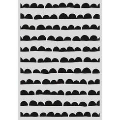 470.803.034 - Pronty Mask stencil - Scallop streep 03.034   A4