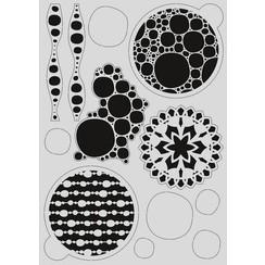 470.803.035 - Pronty Mask stencil - Gel bubbel 03.035   A4