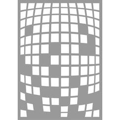 470.802.065 - Pronty Mask stencil Square Explosion 02.065 A5
