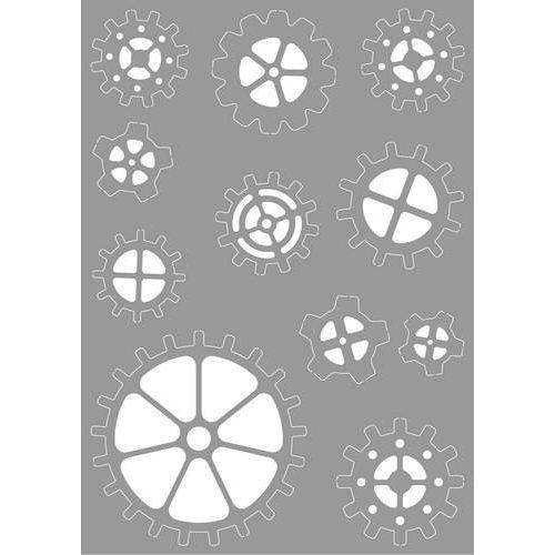 Pronty 470.803.044 - Pronty Mask stencil Gears 03.044 A4