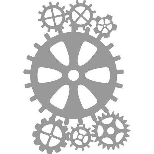 Pronty 470.803.045 - Pronty Mask stencil Gears 2 03.045 A4