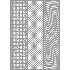 470.803.046 - Pronty Mask stencil Tryptich 03.046 A4