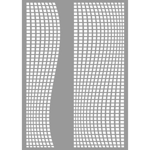 Pronty 470.803.047 - Pronty Mask stencil Square waves 03.047 A4