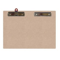 461.941.710 - Pronty MDF Clipboard Double A5, pen and normal 41.710 A5