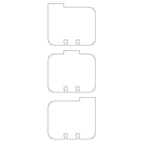 Pronty 472750502 - Memorydex Cards tabs assorted 21 pcs