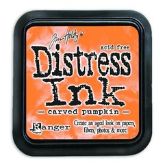 TIM43201 - Ranger Distress Inks pad - carved pumpkin 201 Tim Holtz