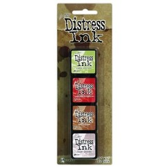 TDPK40415 - Ranger Distress Mini Ink Kit 11 0415 Tim Holtz