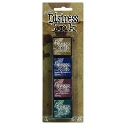 TDPK40422 - Ranger Distress Mini Ink Kit 12 0422 Tim Holtz