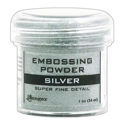 EPJ37415 - Ranger Embossing Powder 34ml - super fine silver 415