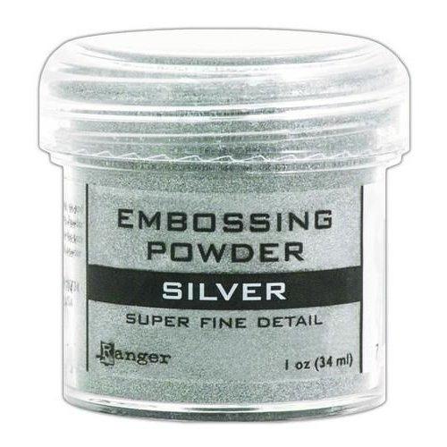 Tim Holtz EPJ37415 - Ranger Embossing Powder 34ml - super fine silver 415