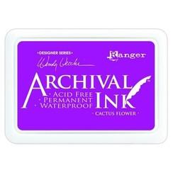 AID48985 - Ranger Archival Ink pad - cactus flower 985 Wendy Vecchi