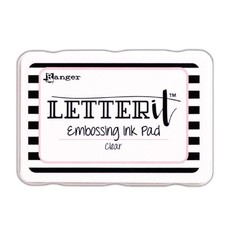 LEI58809 - Ranger Letter It Embossing Ink Pad (Clear) 809