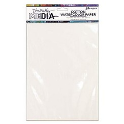 MDJ59646 - Ranger Media Cotton Watercolor Paper Pack 646 Dina Wakley