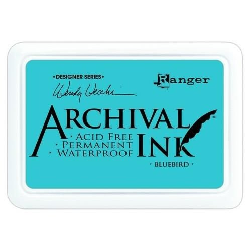 Tim Holtz AID61243 - Ranger Archival Ink pad - bluebird 243