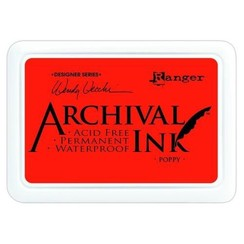 AID61267 - Ranger Archival Ink pad - poppy 267