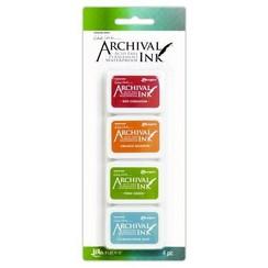 AMDK58960 - Ranger Archival Mini Ink Kit 4 8960 Wendy Vecchi